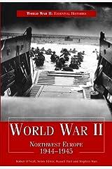 World War II: Northwest Europe 1944-1945 Encadernação para biblioteca
