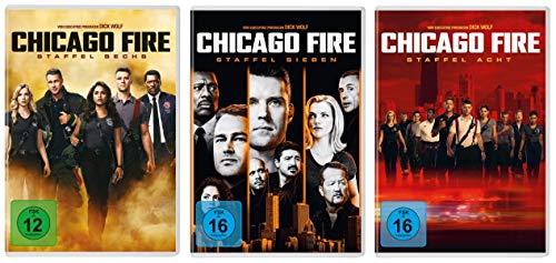 Chicago Fire - Staffel 6+7+8 im Set - Deutsche Originalware [20 DVDs]