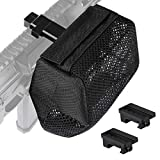 Feyachi Brass Catcher Heat Resistant Thickened Nylon Cartridge Casing Shell Catcher Net for Weapon with Picatinny Rail Mount