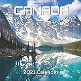 Canada Calendar 2021: Canadian Souvenirs: Kids Men Women Gifts