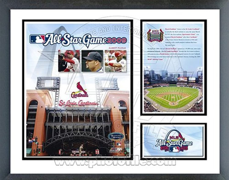 Busch Stadium '09 ASG Milestones & Memories Framed Photo