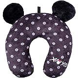 Concept One Disney Minnie Mouse Polka Dot XOXO Travel Neck Pillow