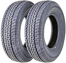 2 New Premium FREE COUNTRY Trailer Tires ST215/75R14 8PR Load Range D Radial w/Scuff Guard