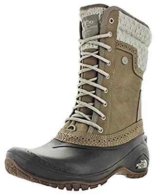 The North Face Women's Shellista II Mid - Split Rock Brown & Dove Grey - 5