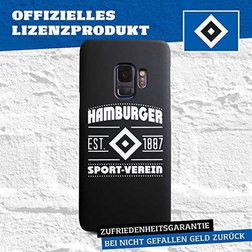 Hamburger SV Case - Wappen - Schutzhülle passend für das Samsung Galaxy S9 Black