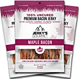 PACKED WITH FLAVOR - This sweet and savory combination of maple syrup and bacon takes snacking to the next level. Tender strips of pork are marinated for 48 hours to create jerky that is bursting with flavor. PURE, CLEAN BURNING FUEL: Our 100% grass ...