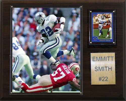 C & I Collectables NFL Emmitt Smith Dallas Cowboys Spieler Plaque