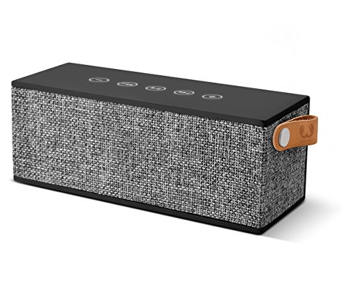 Fresh \'n Rebel ROCKBOX BRICK Fabriq Edition Concrete | Kabelloser Bluetooth Lautsprecher