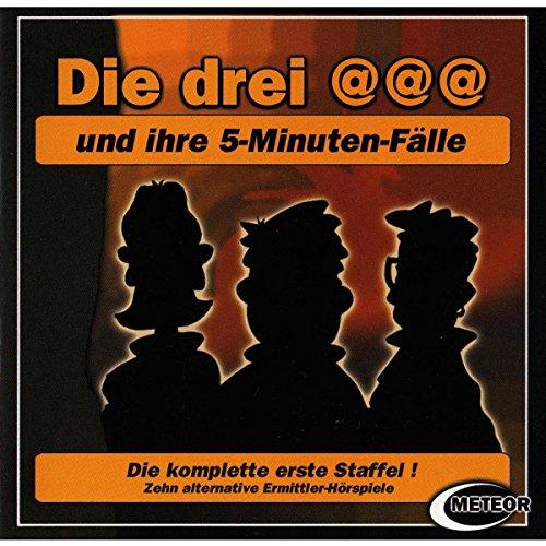 Die drei @@@ und ihre 5-Minuten-Fälle: Die komplette 1. Staffel Titelbild