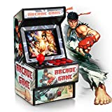 """Golden Security Mini Arcade Game Machine 156 Classic Handheld Games Portable Machine for Kids&Adults with 2.8"""" Eye-Protected Colorful Screen&Rechargeable Battery (RHAC06)"""