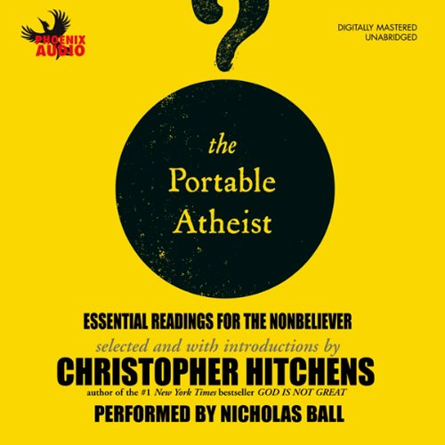 The Portable Atheist audiobook cover art
