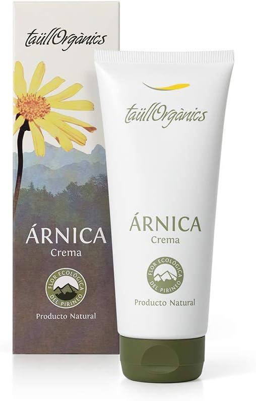 Taull Organics - Crema de Árnica Ecológica con Proteína de Trigo y Menta 200ml | Arnica Montana | Antiinflamatorio Natural | para Molestias Reumáticas y Musculares | Sin Parabenos.