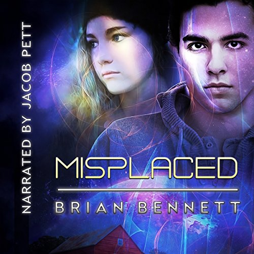 Misplaced audiobook cover art