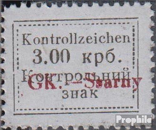 Prophila Collection Ukraine (Dt.BES.) - Sarny 6A 1941 Kontrollzeichen Aufdruckausgabe (Briefmarken für Sammler)