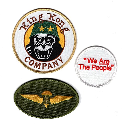 Taxi Driver King Kong Company Travis Bickle M65 Cult Iron on 3pcs Patch