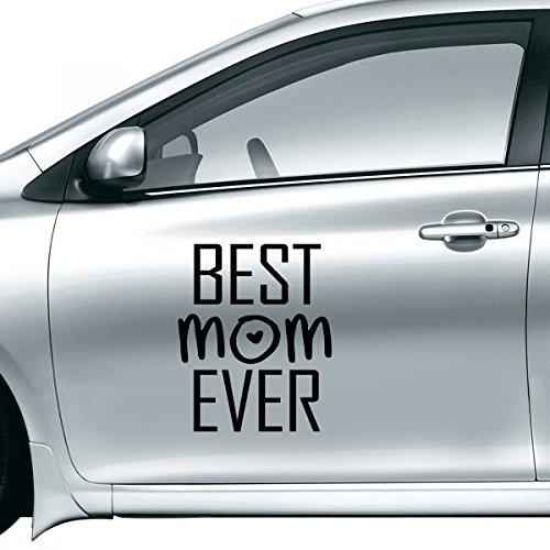DIYthinker Beste Moeder Ooit Quote Moederdag Auto Sticker Op Auto Styling Decal Motorfiets Stickers Voor Auto Accessoires Gift