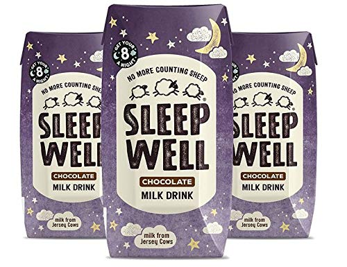 Sleep Well Chocolate Milk Drink Pack of 3 (3x200ml)