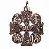 Espíritu Santo medalla. Medalla De Santos. Roman Catholic Saints medalla. Varios imágenes de Santos.