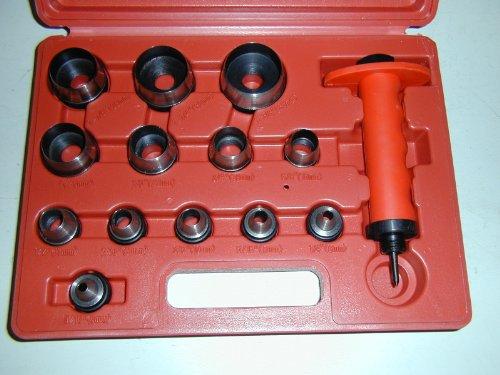 Creuse De Perforation Set 13-En-1 5-35Mm Et 3 / 16-3 / 8 Po. 1 Paquet / S