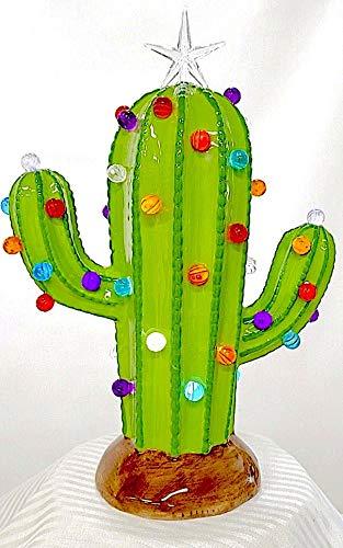 'Generic' Light Up Cactus Christmas Tree Saguaro Cactus Succulent Light Decoration Inside Adorable!