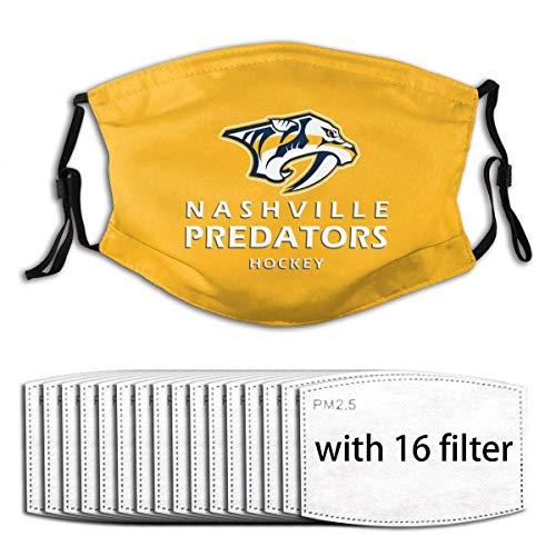 Simple Love Av Nashville Predators Adult Dustproof Breathable Mundschutz waschbarMit 16 Filter