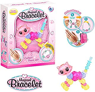 nTouch International Kiki The Kitty - by Pixie's Pets - Transforms from a Pet into a Magical Bracelet! (Colors May Vary)