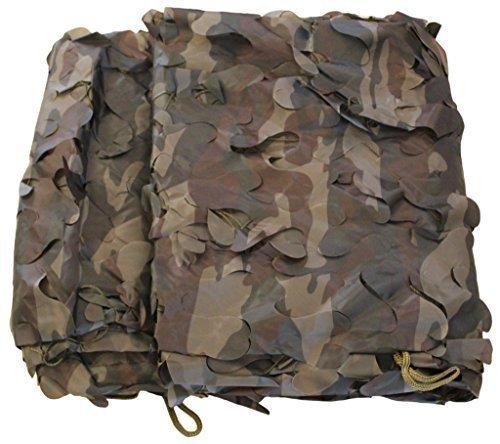 inet-trades 6x3 m Tarnnetz Camouflage in Farbe Oliv-grün - Bundeswehr Jagd Outdoor Army BW Camping - original GmbH Produkt