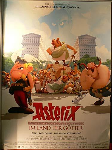 Asterix im Land der Götter - Filmposter A1 84x60cm gerollt