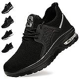 Zapatos de Seguridad Hombre Mujer Zapatillas de Trabajo...