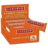 Larabar Fruit and Nut Bar, Cashew Cookie, Gluten Free, 16 ct, 27.2 oz