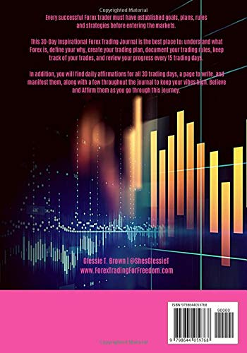 518Wvu5Td6L - Inspirational Forex Trading Journal: Ladies Edition
