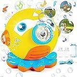 Sinwind Maquina Burbujas de Jabon Pistola Pompas de Jabon Niños Juego de Pompas Jabones Pomperos para Niños Cumpleaños con Luces y Música, 3000+ Burbujas de Jabón per Min, Bodas al Aire Libre,Fiestas