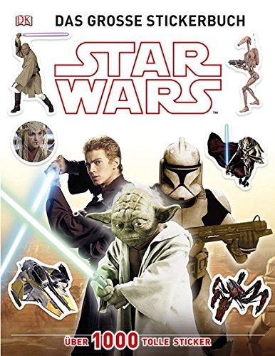 Star Wars Das große Stickerbuch: Über 1000 tolle Sticker