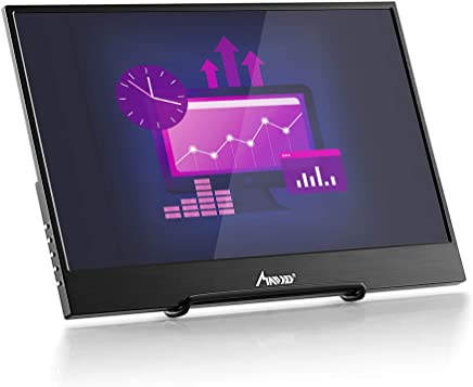 $179 » 13.3 Inch Portable Monitor, MAD GIGA FHD 1080p HDR IPS LED Display Monitor Ultra-Thin Dual HDMI/USB Monitor with Built-in Speaker for PS4, Xbox One / Xbox360 / x Box/Raspberry Pi/Nintendo/Laptop PC