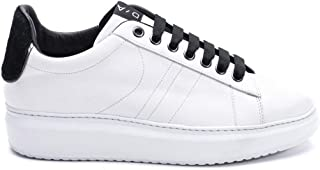 D'ACQUASPARTA Luxury Fashion Womens COURTHIGHCAVN White Sneakers | Fall Winter 19