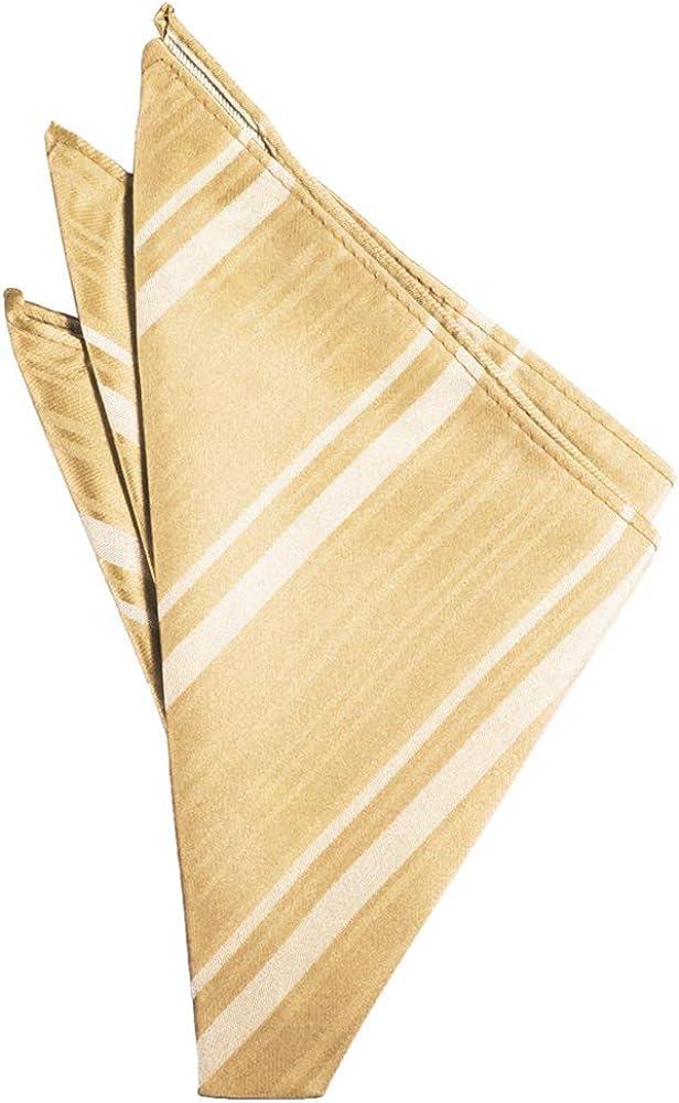 Cardi Striped Satin Handkerchief