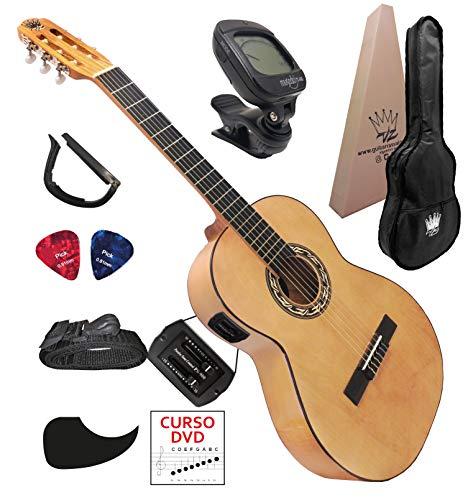 VAlLDEZ Guitarra Electroacústica Pastilla 2 bandas PS-900 (Natural)
