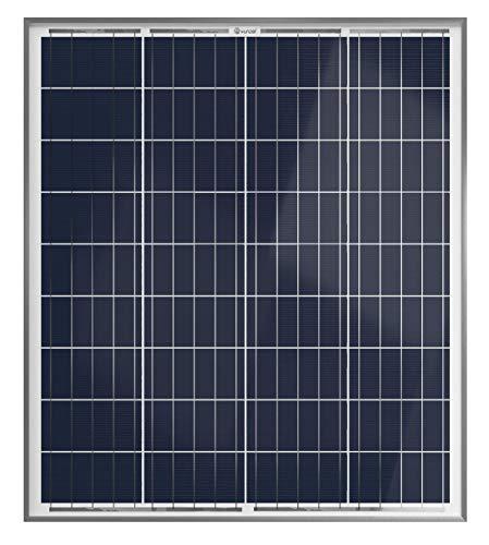 XUNZEL SOLARPOWER panel solar fotovoltaico 80 Watt 12 Volt de alto rendimiento para carga de baterías/caravana/barco/caseta/furgoneta/jardín/electrónica/iluminación