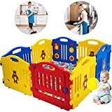Best Baby Play Gates - Baby Playpen for Babies Baby Playard Infants Toddler Review