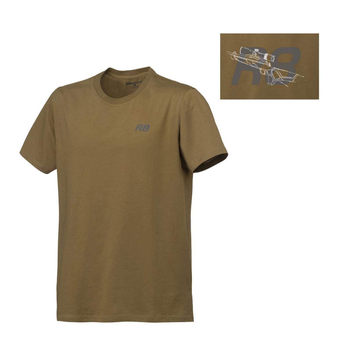 Blaser R8 2019 - Camiseta de Caza para Hombre, Color Verde, Small: Amazon.es: Deportes y aire libre