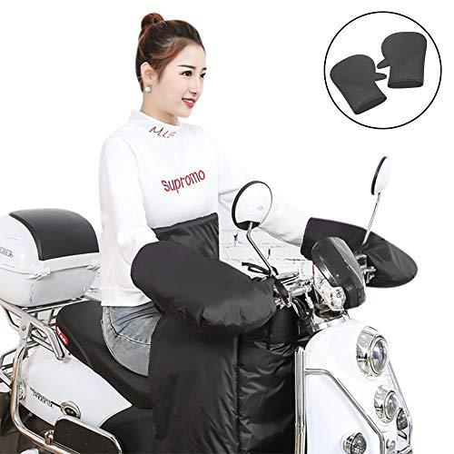 Motorrad Lenkerabdeckung Wasserdicht FahrradLenkerHandschuhe Winddicht Lenkerhandschuhe Handabdeckungen lenkerstulpen Lenkermuffen Warm Thermohandschuh HandwärmerSchutzhandschuhe für Motor Roller