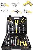 Werkzeugkoffer mit Werkzeug Set - Werkzeugsortiment 126 teilig von 'Steinberger Tools' Markenwerkzeug günstig