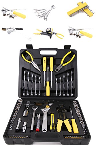 """Werkzeugkoffer mit Werkzeug Set - Werkzeugsortiment 126 teilig von \""""Steinberger Tools\"""" Markenwerkzeug günstig"""