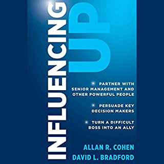 Influencing Up audiobook cover art