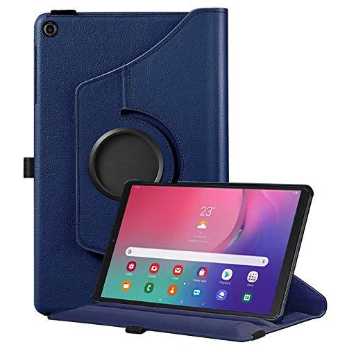 Fintie Hülle für Samsung Galaxy Tab A 10.1 T510/T515 2019, 360 Grad verstellbare Schutzhülle Cover Case Tasche mit Standfunktion für Galaxy Tab A 10,1 Zoll 2019 Tablet-PC, Marineblau