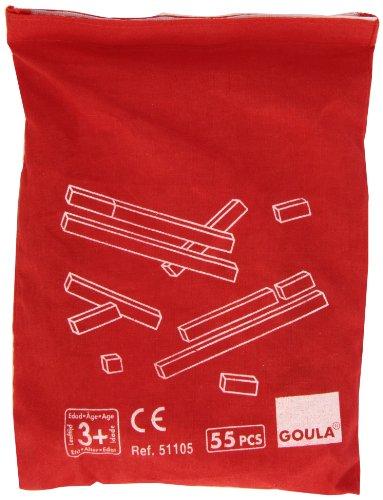 Goula- Regletas en Bolsa, Juego Educativo, Multicolor (51105)