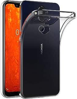 Case for Nokia 8.1 (6.18 inch) MaiJin Soft TPU Rubber Gel Bumper Transparent Back Cover