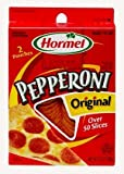Hormel Pizza Toppings Original Pepperoni 3.5oz Box Pack of 4
