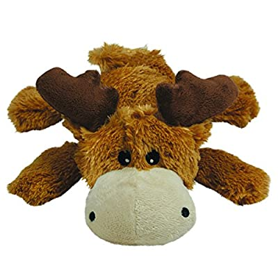 KONG - Cozie Marvin Moose - Indoor Cuddle Squeaky Plush Dog Toy - For X-Large Dogs