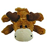 KONG - Cozie Marvin Moose - Indoor Cuddle Squeaky Plush Dog Toy - X-Large